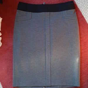 BCBG skirt stretch wool pencil skirt